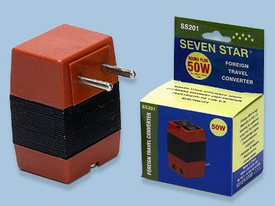 Seven Star SS-201 50 Watts Step Down Voltage Converter - SS201
