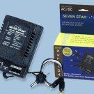 Seven Star AC/DC Power Adapter 1000ma 110V/220V SS-105