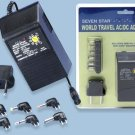 Sevenstar World Travel AC To DC Power Adapter 600MA- SS112