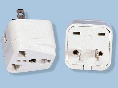 American Universal Plug Adaptor- SS-410 - Converts to US Style Plug