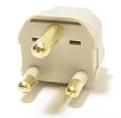 South Africa Universal Grounded Plug - SS415sa - Three Prong Big Plug Specially for South Africa