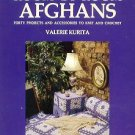 Crochet & Knitting Hardcover Book Afghans Pillows & More