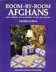 Crochet & Knitting Hardcover Book Afghans Pillows & More