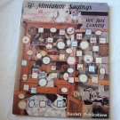 Cross Stitch Pattern Booklet 50 Miniature Sayings Rare Dated 1984