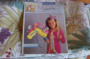 Dancing Sock Ponies & Piggy Fabric Craft Booklet