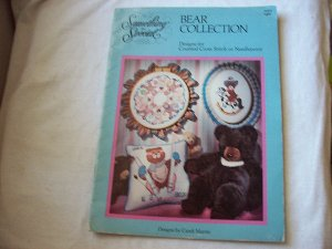 Counted Cross Stitch or Needlepoint Bear Collection Booklet