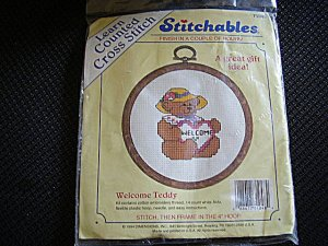 Stitchables Learn Counted Cross Stitch Kit All Materials Needed Included