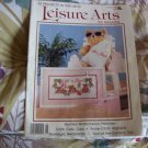 Leisure Arts Magazine Back Issue 1988 32 Projects Cross Stitch, Knit & Crochet, Crafts