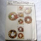 Simplicity Crafts Pattern 4 Wreaths to Make