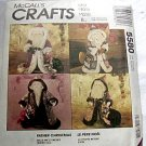 Father Christmas McCall's Crafts 4 Patterns to Make