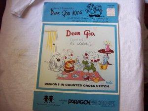 Designs in Counted Cross Stitch Dear God Kids