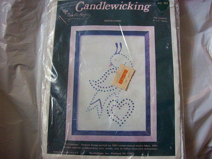 """Candlewicking Kit DistelFink Fits 5""""x7"""" Frame"""