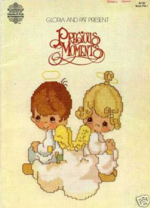 Precious Moments Counted Cross Stitch Pattern Booklet