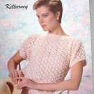 Bernat Vintage Booklet Knitted Sweaters Dated 1985