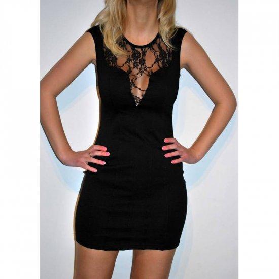 ELISE RYAN TOPSHOP BLACK LACE BODYCON BODY CON CLUBWEAR MINI PARTY DRESS UK SIZE 14, US SIZE 10