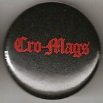Cro Mags logo red on black A03