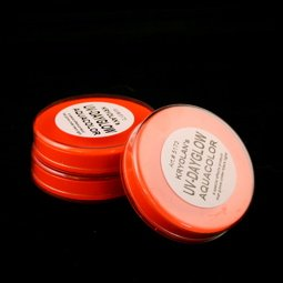 Kryolan UV Dayglo Cakes - Face Body Paint - Makeup - Orange