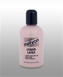 Liquid Latex - 4oz Clear Mehron SFX Makeup