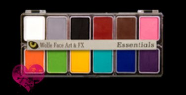 Wolfe Face Paint Palette Essentials Primary Face Painting Halloween Makeup