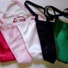 Large-10 Wholesale G-String Satin Thong Panties Lot