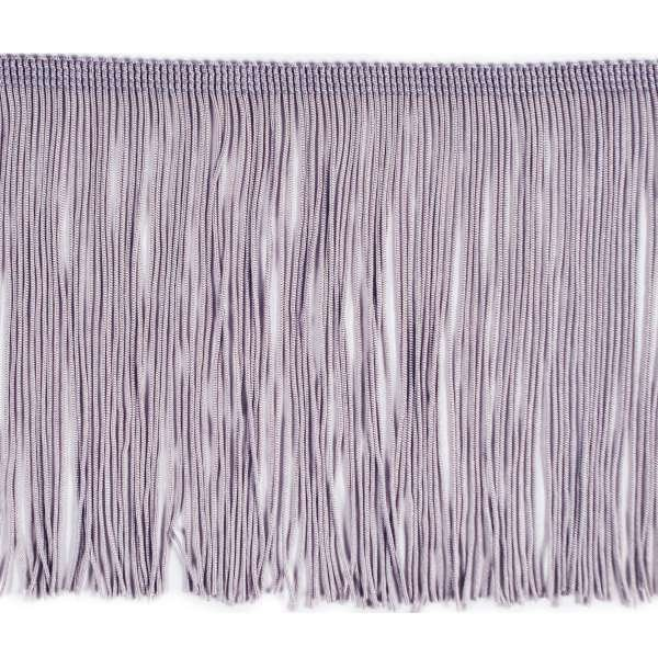6 Quot Grey Chainette Fringe Trim By The Yard
