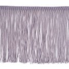 "6"" Grey Chainette Fringe Trim By the Yard"