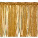 "6"" GOLD Chainette Fabric Fringe Trim By the Yard"