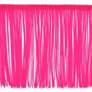 """6"""" Hot Pink/Fuchsia Chainette Fringe Trim By the Yard"""