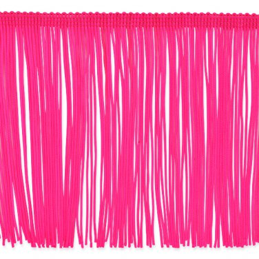 6 Quot Hot Pink Fuchsia Chainette Fringe Trim By The Yard