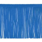 "6"" ROYAL BLUE Chainette Fabric Fringe Trim By the Yard"