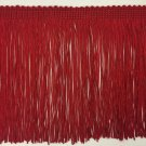 "10 Yard Bolt-6""  Red DOUBLE STRAND Chainette Fringe by the Yard Lamp Home Decor Trim"