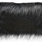 "By Yard-4"" Black Faux Fur on Bias Fringe Lampshade Lamp Pillow Costume Trim"