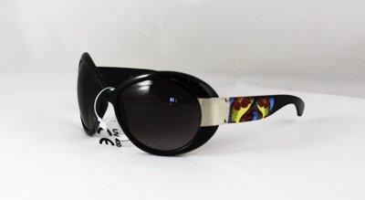 Smoky Tint Tattoo Oversized Sunglasses