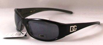 DG Slim Black Rim Smoky Tint Sunglasses