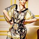 Elegant Silky Bohemian Blouse Tunic Top (NWT)