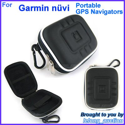 Black Carry Case Cover for Garmin nüvi nuvi 1200 1250 1260T 200 205 250 255 260 265T 270 275T GPS