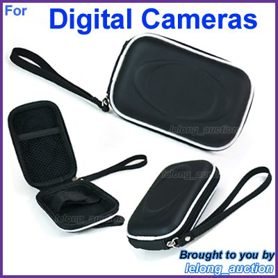 Black Carry Case Cover for Canon Digital IXUS 1000 300 HS 210 130 105 200 120 110 100 95 90 870 IS