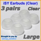 Large Replacement Ear Buds Tips for Skullcandy Asym TiTan FMJ Smokin INKD Riot Holua Striker @C