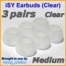 Medium Replacement Ear Buds Tips for Skullcandy Asym TiTan FMJ Smokin INKD Riot Holua Striker @C