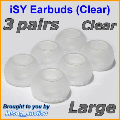 Large Ear Buds Caps Tips for Philips SHE9500 SHE9550 SHE9700 SHE9800 SHN2500 In-Ear Headphones @C