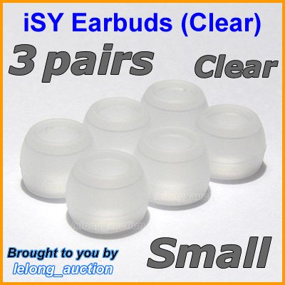 Small Ear Buds Caps Tips for Philips SHE9500 SHE9550 SHE9700 SHE9800 SHN2500 In-Ear Headphones @C