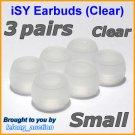 Small Ear Buds Caps Tips for Philips SHE9500 SHE9550 SHE9700 SHE9800 SHN2500 In-Ear Headphones @C