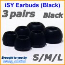 Replacement Ear Buds Tips for Skullcandy Asym TiTan iPhone FMJ Smokin INKD Riot Holua Striker @B