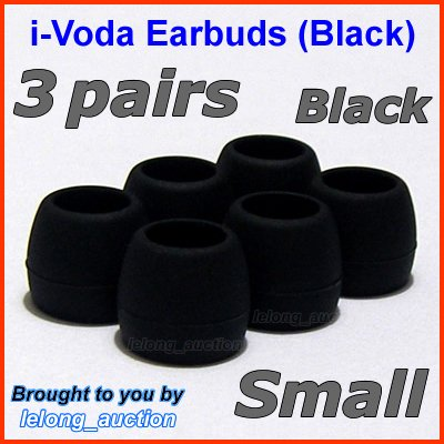 Small Ear Buds Tips Pads for Creative EP-3NC HS-730i EP-650 EP-660 EP-830 EP-630 EP-630i EP-635 @B