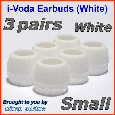 Small Ear Buds Tips Pads for Creative EP-3NC HS-730i EP-650 EP-660 EP-830 EP-630 EP-630i EP-635 @W