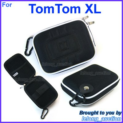 Black Carry Case Cover for TomTom XL 325 335 340 LIVE 350 Series 330�S Portable GPS Navigators