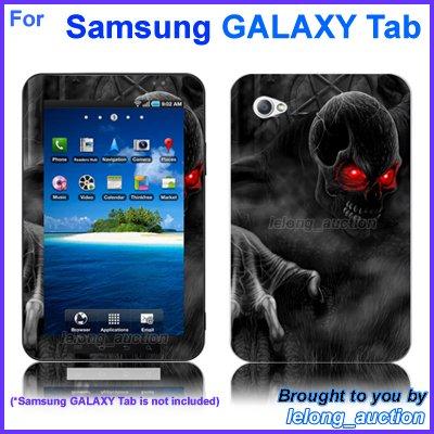 "Vinyl Skin Sticker Art Decal Red Eye Devil Design for Samsung GALAXY Tab 7"" 7-inch Tablet"