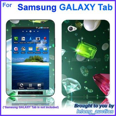"Vinyl Skin Sticker Art Decal Sparkling Diamond Design for Samsung GALAXY Tab 7"" 7-inch Tablet"
