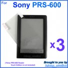 3x Clear Screen Protector Film for Sony PRS-600 Reader Touch Edition eBook eReader 6-inch