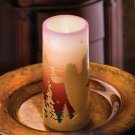 Angelic Hosts Vanilla Scented Flameless Christmas Candle Decoration